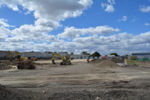 Future Campbellfield Parts Warehouse (and current Tonka Truck playground)